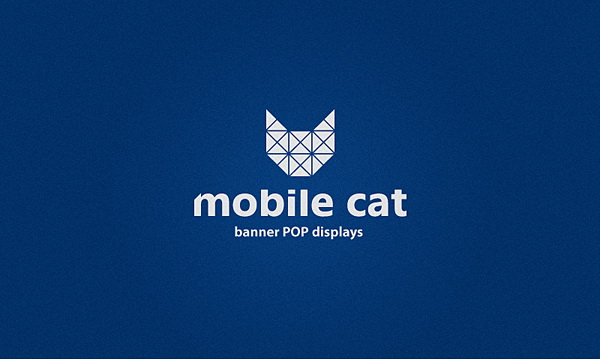 Mobile Cat: brand identity for banner POP displays