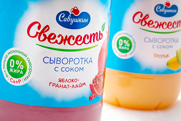 "A fresh look at ""Freshness"": AVC has updated the design of the popular drink by ""Savushkin Product"""